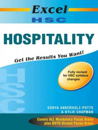 Excel Study Guide: HSC Hospitality (with HSC cards) Year 12