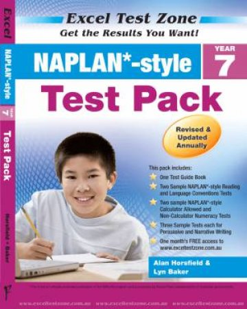 NAPLAN* Style Year 7 Test Pack