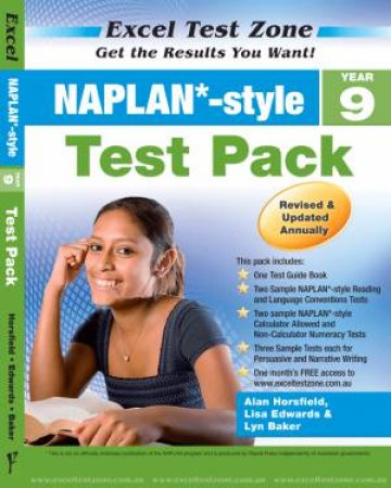 NAPLAN* Style Year 9 Test Pack