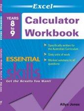 Excel Essential Skills  Calculator Workbook Years 89