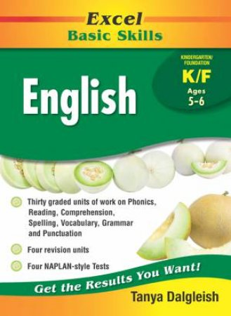 Excel Basic Skills English Kindergarten/Foundation