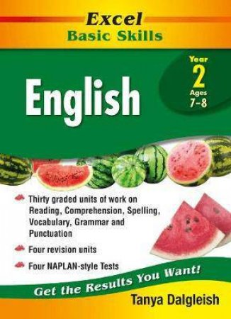 Excel Basic Skills English Year 2
