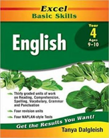 Excel Basic Skills English Year 4