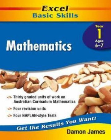 Excel Basic Skills: Mathematics Year 1 by Various