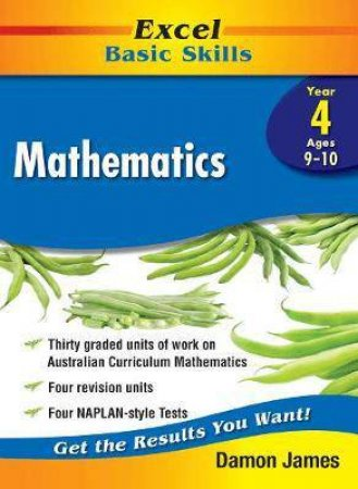 Excel Basic Skills Core Books: Mathematics Year 4 by Unknown