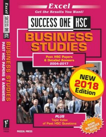 Excel Success One HSC: Business Studies (2018 Edition)
