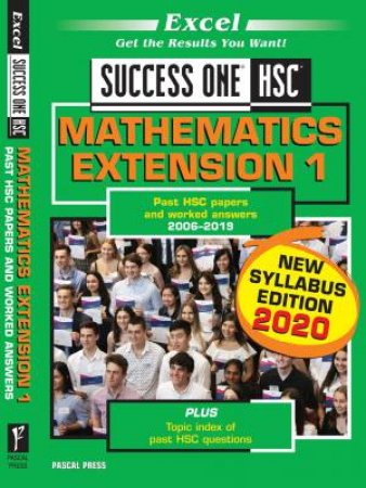 Excel Success One HSC Mathematics Extension 1 2020 Edition
