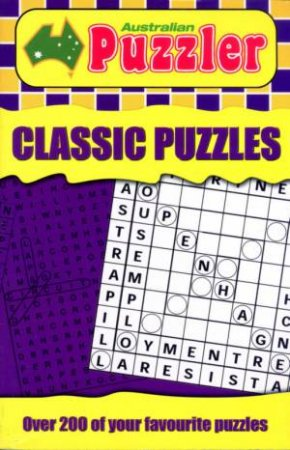 Australian Puzzler: Classic Puzzles by Unknown