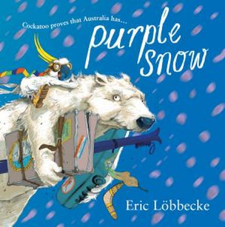 Purple Snow by Eric Lobbecke