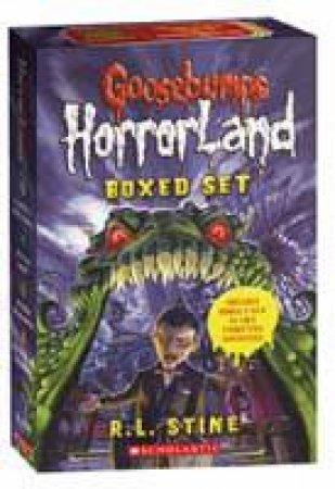 Goosebumps Horrorland: Books 5-8 by R L Stine