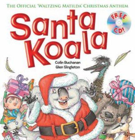 Santa Koala + CD by Colin Buchanan