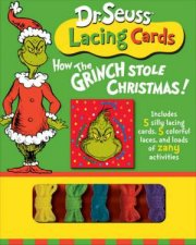 Dr Seuss How The Grinch Stole Christmas Lacing Cards