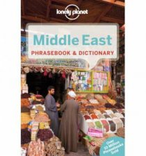 Lonely Planet Middle East Phrasebook And Dictionary 2nd Ed