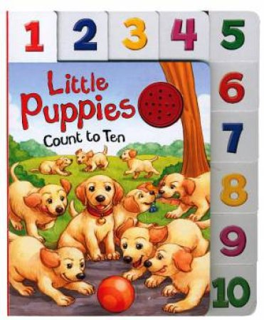 10 Little Index Sound: Little Puppies Count to Ten by Various