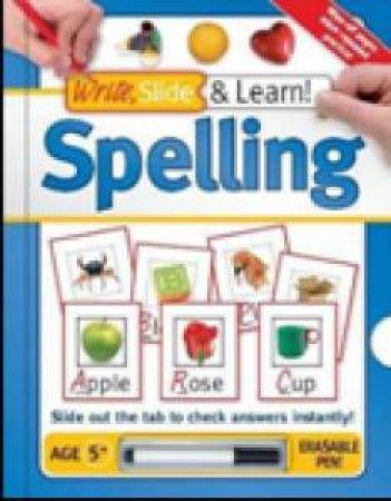Write, Slide & Learn: Spelling by Various