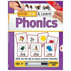 Write, Slide & Learn: Phonics by Various