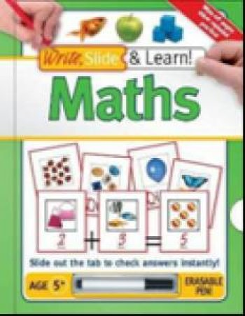 Write, Slide & Learn: Math by Various