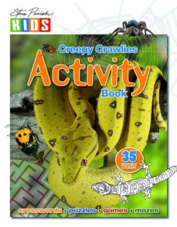Sticker Activity Book: Creepy Crawly