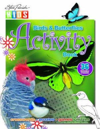 Sticker Activity Book: Birds & Butterflies
