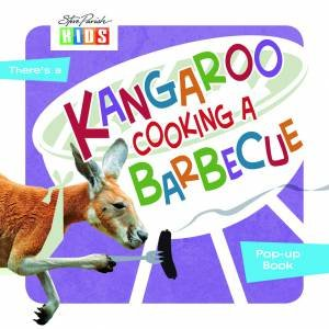 Animals In My World: Kangaroo Cooking A Barbecue