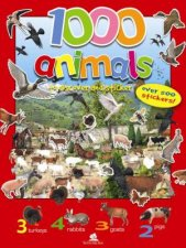 1000 Animals to discover and sticker
