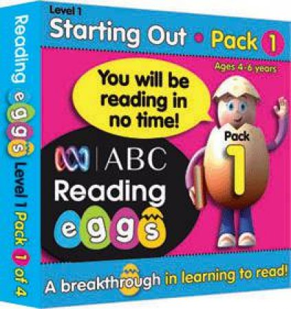 ABC Reading Eggs - Starting Out - Book Pack 1 by Various