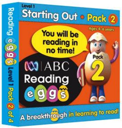 ABC Reading Eggs - Starting Out - Book Pack 2 by Various