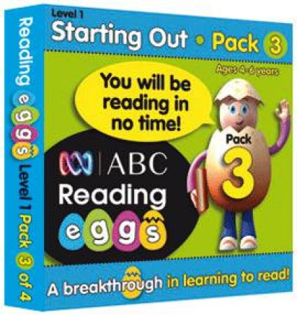 ABC Reading Eggs - Starting Out - Book Pack 3