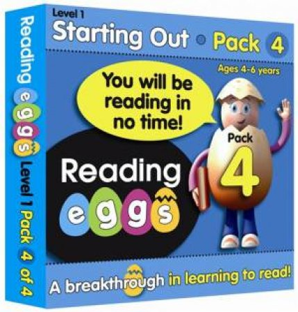 ABC Reading Eggs - Starting Out - Book Pack 4 by Various