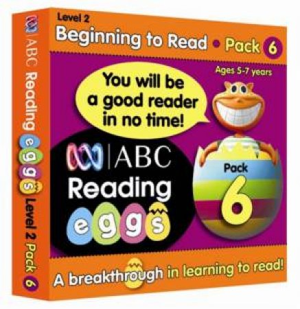 ABC Reading Eggs - Beginning to Read - Book Pack 6 by Various