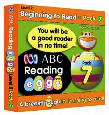 ABC Reading Eggs - Beginning to Read - Book Pack 7