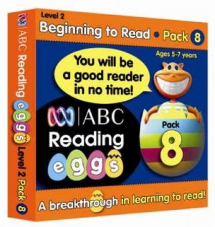 ABC Reading Eggs - Beginning to Read - Book Pack 8