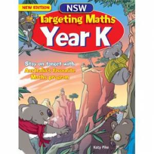 NSW Targeting Maths Student Book - Year K (Australian Curriculum Edition)