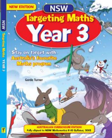 NSW Targeting Maths Student Book - Year 3 (Australian Curriculum Edition)