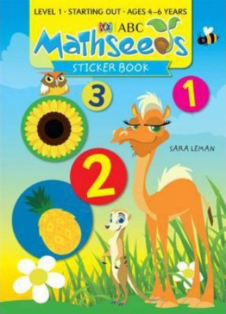 Mathseeds Sticker Book