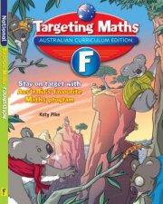 Targeting Maths Student Book Foundation Australian Curriculum Edition