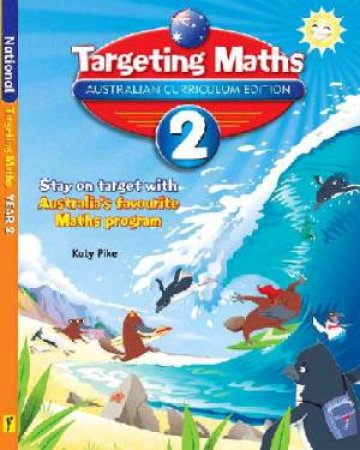 Targeting Maths Student Book: Year 2 (Australian Curriculum Edition)