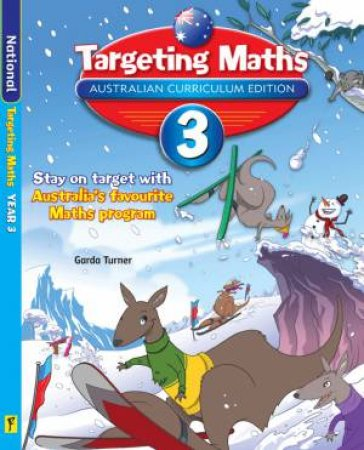 Targeting Maths Student Book: Year 3 (Australian Curriculum Edition)