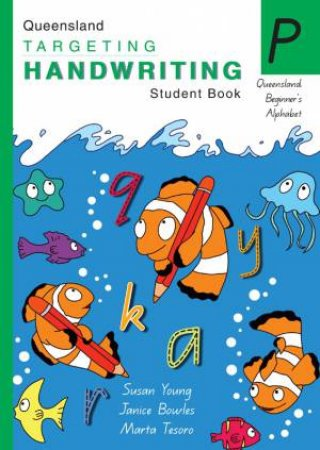 QLD Targeting Handwriting Student Book - Prep