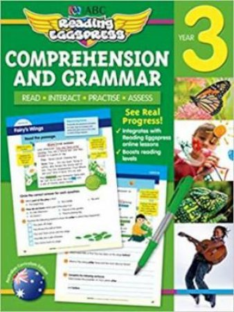 Reading Eggspress Comprehension & Grammar Year 3