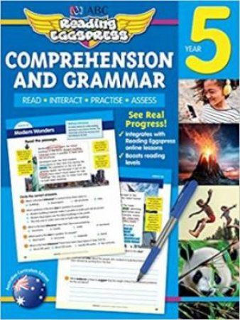 Reading Eggspress Comprehension & Grammar Year 5