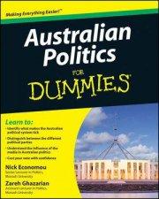 Australian Politics For Dummies by Unknown