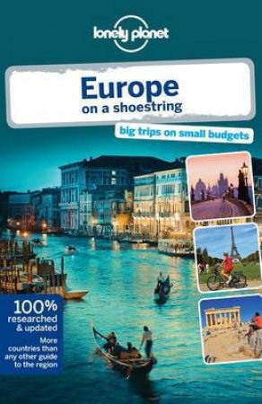 Lonely Planet On A Shoestring: Europe - 8th Ed by Tom Masters