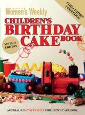 AWW Childrens Birthday Cakes  Vintage Edition