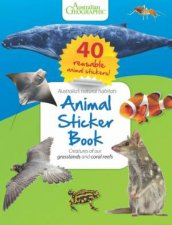 Animal Sticker Book: Reefs And Grasslands by Various