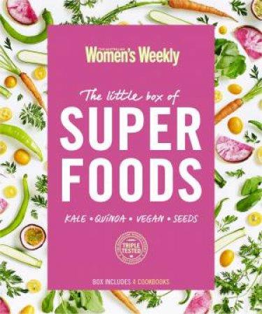 The Little Box Of Super Foods: 4 Books Slipcase