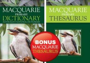 Macquarie Primary Dictionary And A Bonus Primary Thesaurus