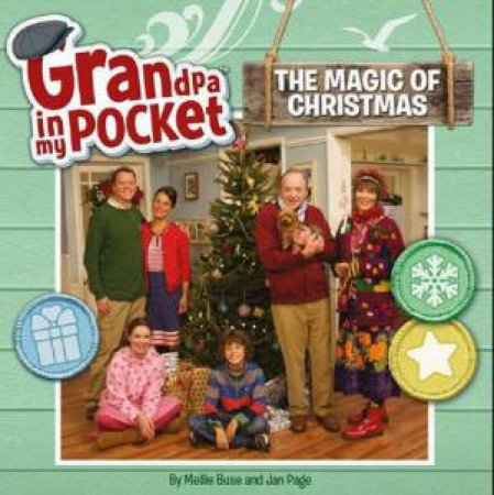 Grandpa in My Pocket 8x8 Storybook: The Magic of Christmas by None