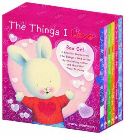 Things I Love About: Slipcase Set by Trace Moroney