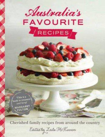 Australia's Favourite Recipes by Leila McKinnon
